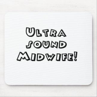 partera del ultrasonido alfombrillas de ratones
