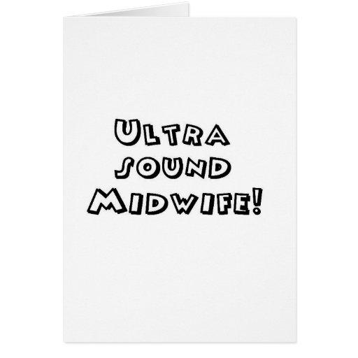 partera del ultrasonido tarjeta
