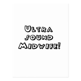 partera del ultrasonido tarjetas postales