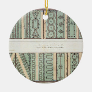 Parterres of Turf and Earth for small Ground Plots Christmas Tree Ornament