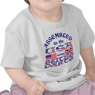Partes 2 británicas camiseta