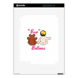 Partes inferiores del oso calcomanías para el iPad 2