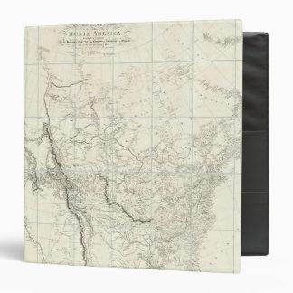 """Partes interiores de Norteamérica Carpeta 1 1/2"""""""
