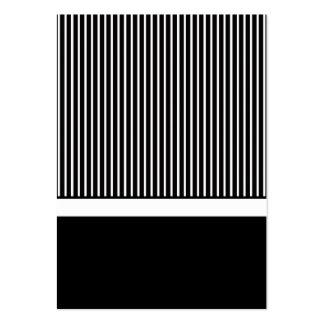 Partes movibles negros y blancos de la tarjeta de plantillas de tarjetas personales