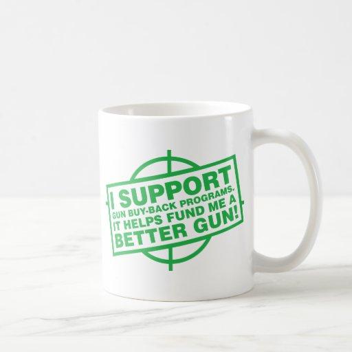 Partes posteriores de la compra del arma - G Taza De Café