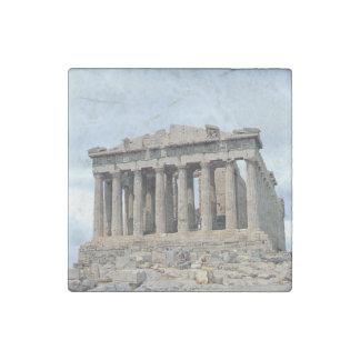 Parthenon 1 imán de piedra