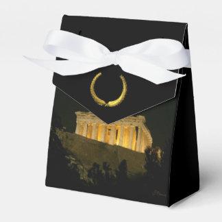 Parthenon 2 cajas para detalles de boda