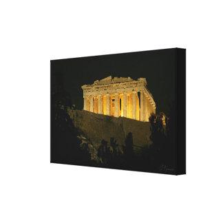 Parthenon 2 canvas print
