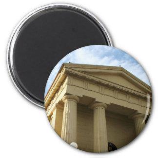 Parthenon 2 Inch Round Magnet