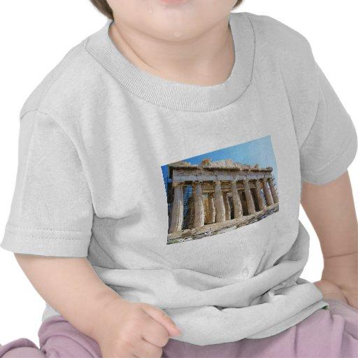 Parthenon, acrópolis Atenas Camiseta