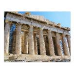 Parthenon, acrópolis Atenas Tarjetas Postales