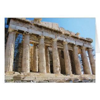 Parthenon Acropolis Athens Greeting Card