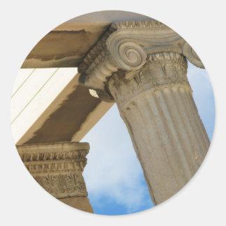 Parthenon, Acropolis, Athens Classic Round Sticker