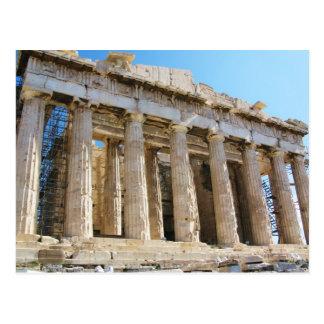 Parthenon Acropolis Athens Postcards