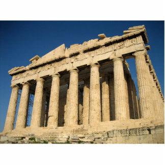Parthenon Acropolis in Athens Cutout
