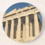 Parthenon Acropolis in Athens Drink Coaster