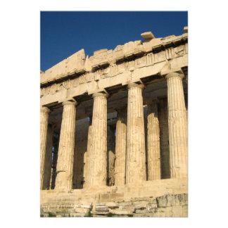 Parthenon Acropolis in Athens Personalized Invitation