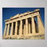 Parthenon Acropolis in Athens Poster