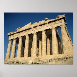 Parthenon Acropolis in Athens Print