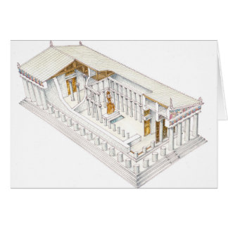 Parthenon Athens Card