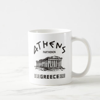 Parthenon - Athens - Greek (black) Coffee Mug