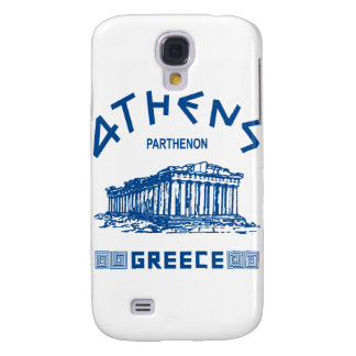 Parthenon - Athens - Greek (blue) Samsung Galaxy S4 Cover