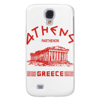 Parthenon - Athens - Greek (red) Galaxy S4 Cover