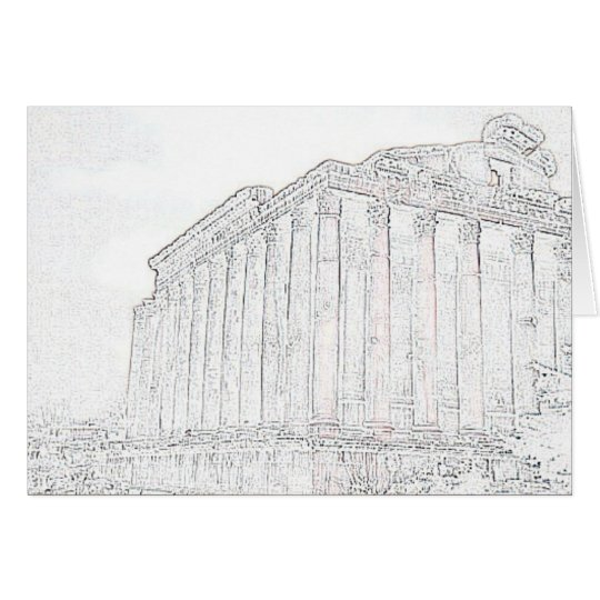 parthenon card