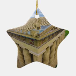 Parthenon Ceramic Ornament