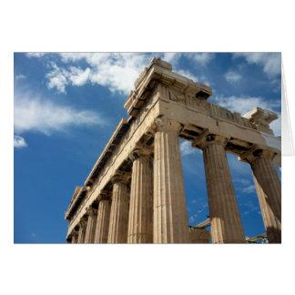 parthenon columns card