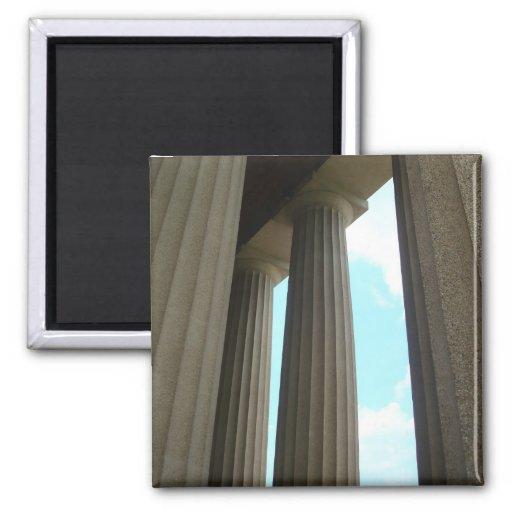 Parthenon Columns Nashville TN Magnet