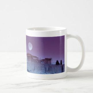Parthenon crepuscular tazas