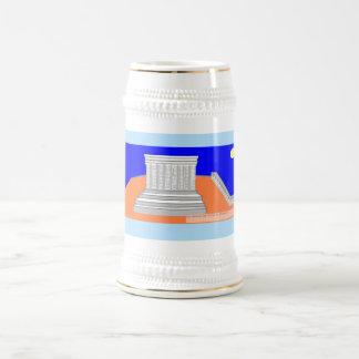 Parthenon day! beer stein