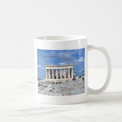 Parthenon de Atenas Taza