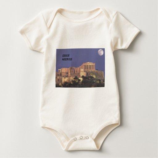Parthenon de Grecia Atenas Akropolis (St.K) Body Para Bebé