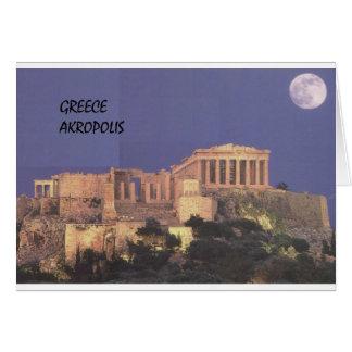 Parthenon de Grecia Atenas Akropolis (St.K) Tarjeta De Felicitación