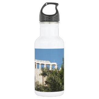 Parthenon del griego clásico de lejos
