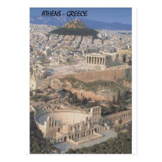 Parthenon del herodion de Grecia Atenas (St.K.) Postal