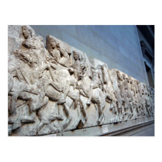 Parthenon Frieze - The British Museum Post Cards