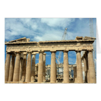 parthenon frontal card