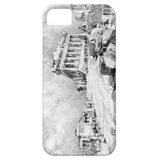 Parthenon Grecia 1913 iPhone 5 Fundas