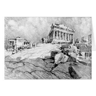 Parthenon Greece 1913 Card