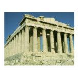 Parthenon griego postales