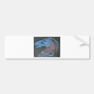 parthenon horse head bumper sticker