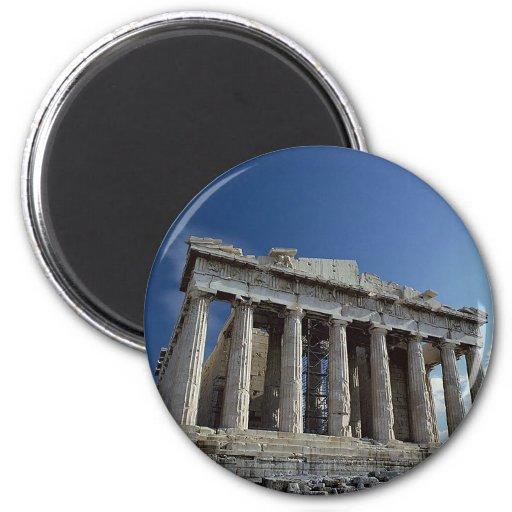 Parthenon Imán De Frigorífico