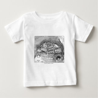 Parthenon in Athens Map Baby T-Shirt