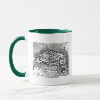 Parthenon in Athens Map Mug
