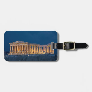 Parthenon Luggage Tag