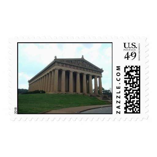 Parthenon Nashville TN Centennial Park Stamps