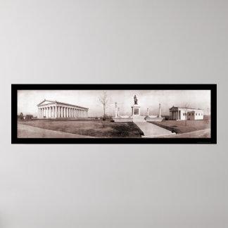 Parthenon Nashville TN Photo 1909 Poster